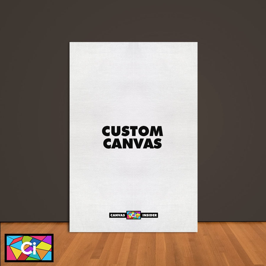 Personalised Custom Canvas - Vertical - Canvas Insider™️