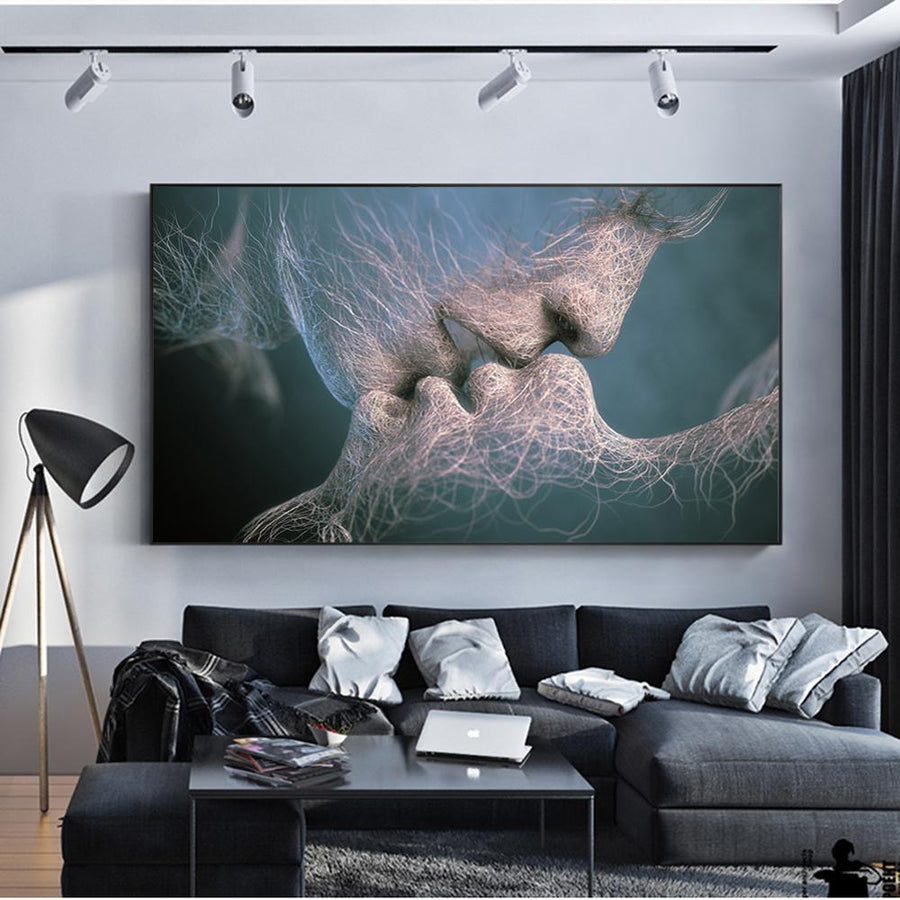 Spiritual Soulmates Canvas Wall Art - Canvas Insider™️