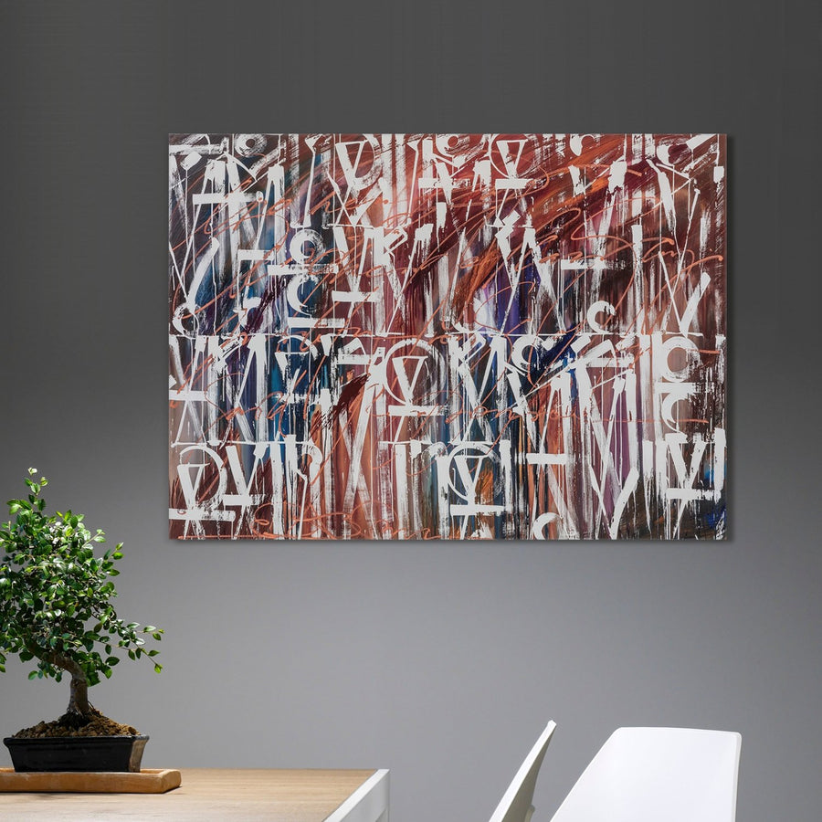 Synergy Abstract Art - Canvas Insider