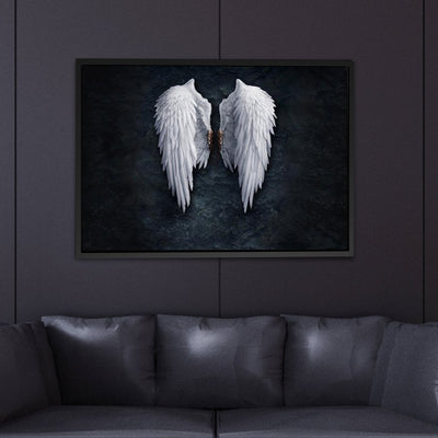 Wings Of An Angel Spiritual Canvas - Canvas Insider