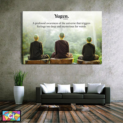 Yugen Canvas Wall Art - Canvas Insider™️