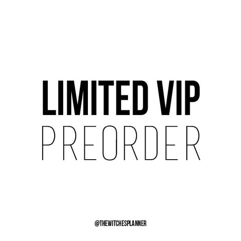 VIP PREORDER - The Witches Planner - 2021