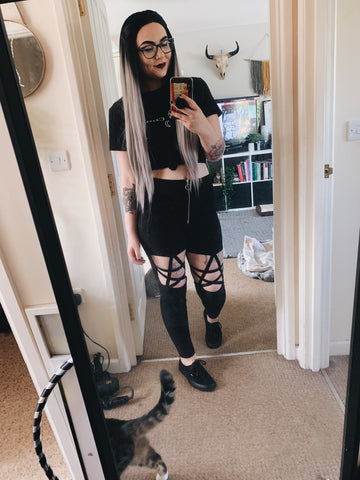 Black Pentagram Trousers