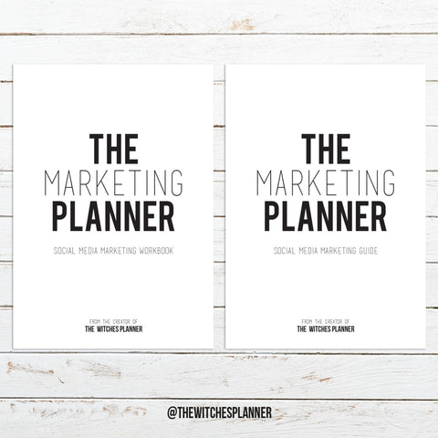 The Marketing Planner - Digital Download - Printable
