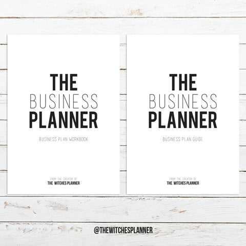 The Business Planner - Digital Download - Printable