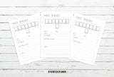 Extra Inserts - Digital Download - Printable