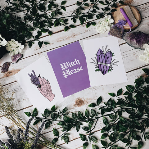 Amethyst Aesthetic Prints