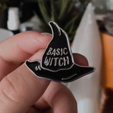 Basic Witch - Enamel Pin