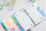 Holographic A5 Travel Ringbinder