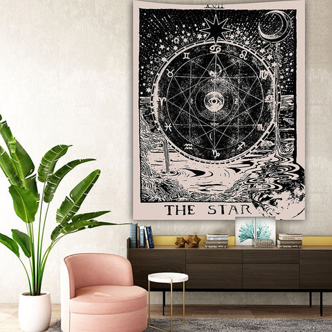 Tarot Card Wall Tapestry - Large