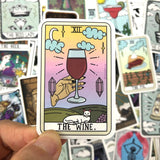 Tarot Card Stickers