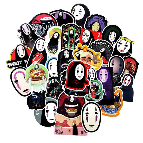 No Face Stickers