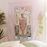 Illustrated Wall Tapestry