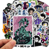 Tim Burton Themed Stickers