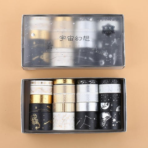 Zodiac Foiled Washi Tape Set