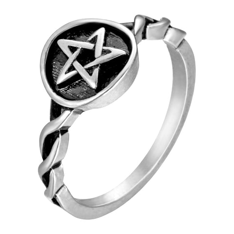 Braided Pentagram Ring