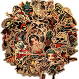 Sailor Jerry Tattoo Stickers