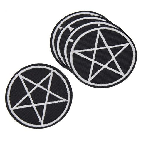 Pentagram Patch (5pc)