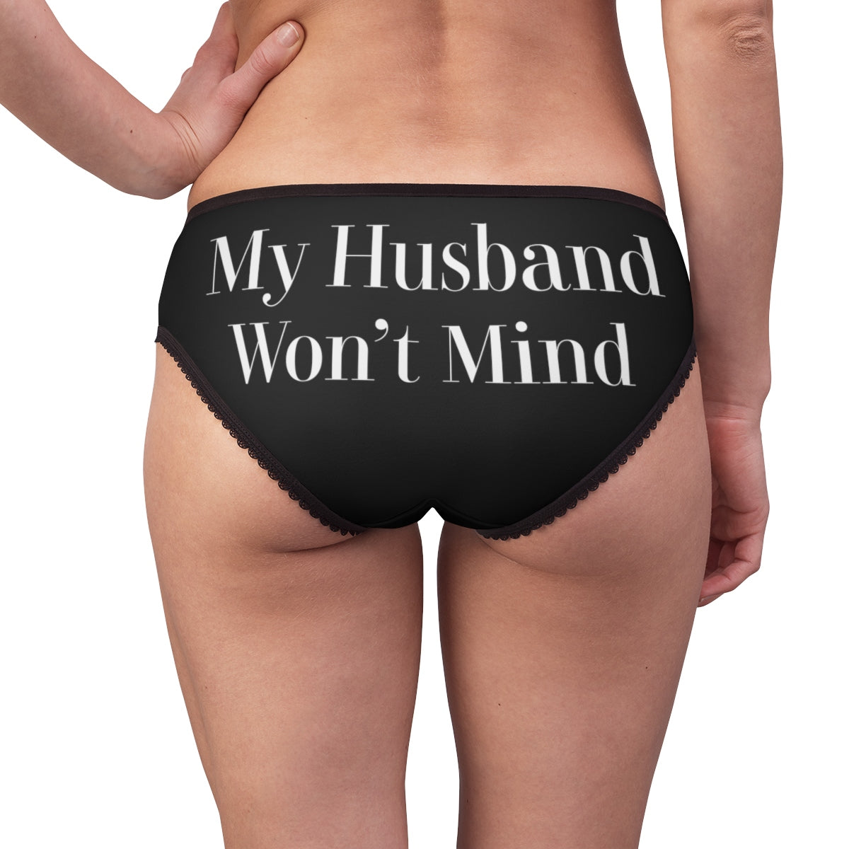 My Husband Won't Mind Hotwife Swinger Women's Briefs
