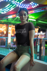 Bareback Princess Women's Crop Tee - Cuck and Bull Shop