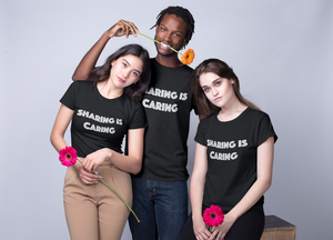 Sharing is Caring Short-Sleeve Unisex T-Shirt - Cuck and Bull Shop