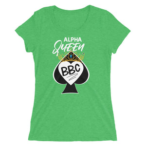Alpha Queen of Spades I Love BBC Ladies' short sleeve t-shirt