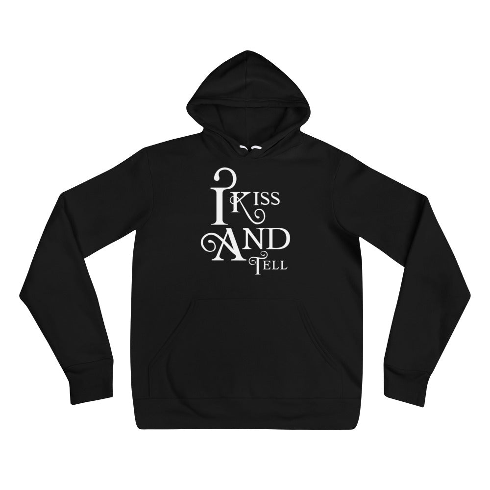 I Kiss and Tell Cuckolding Couples Unisex Pullover Hooded Sweatshirt