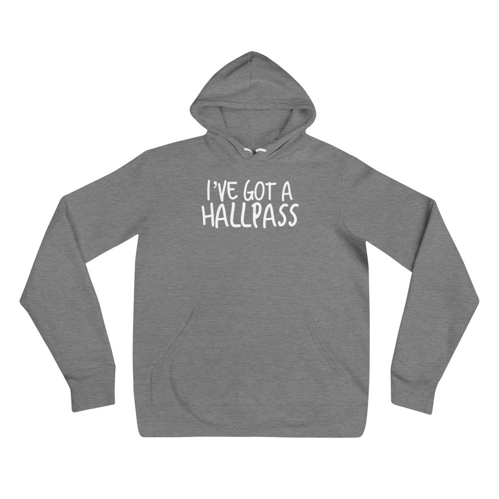 I've Got A Hallpass Cuckolding Couples Unisex Pullover Hooded Sweatshirt
