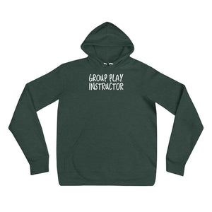 Group Play Instructor Cuckolding Couples Unisex Pullover Hooded Sweatshirt