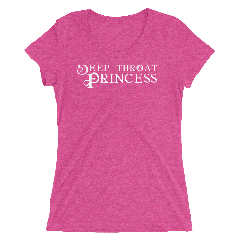 Deep Throat Princess Ladies' short sleeve t-shirt - Cuck and Bull Shop