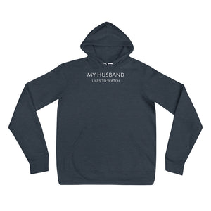 My Husband Likes To Watch Cuckolding Womens Unisex Pullover Hooded Sweatshirt