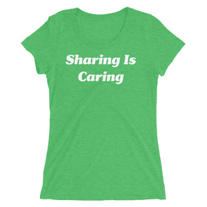 Sharing Is Caring Swingers Couple Ladies' short sleeve t-shirt - Cuck and Bull Shop