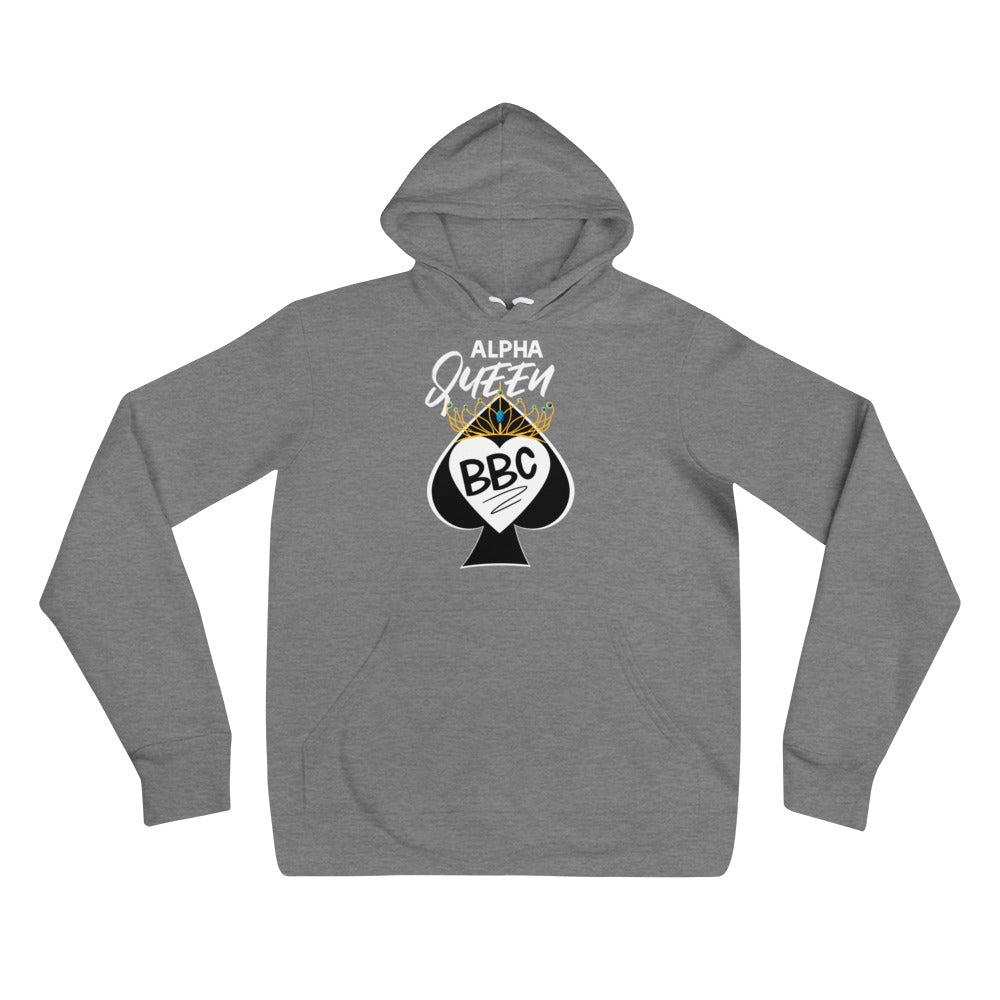 Alpha Queen of Spades I Love BBC Pullover Hooded Sweatshirt