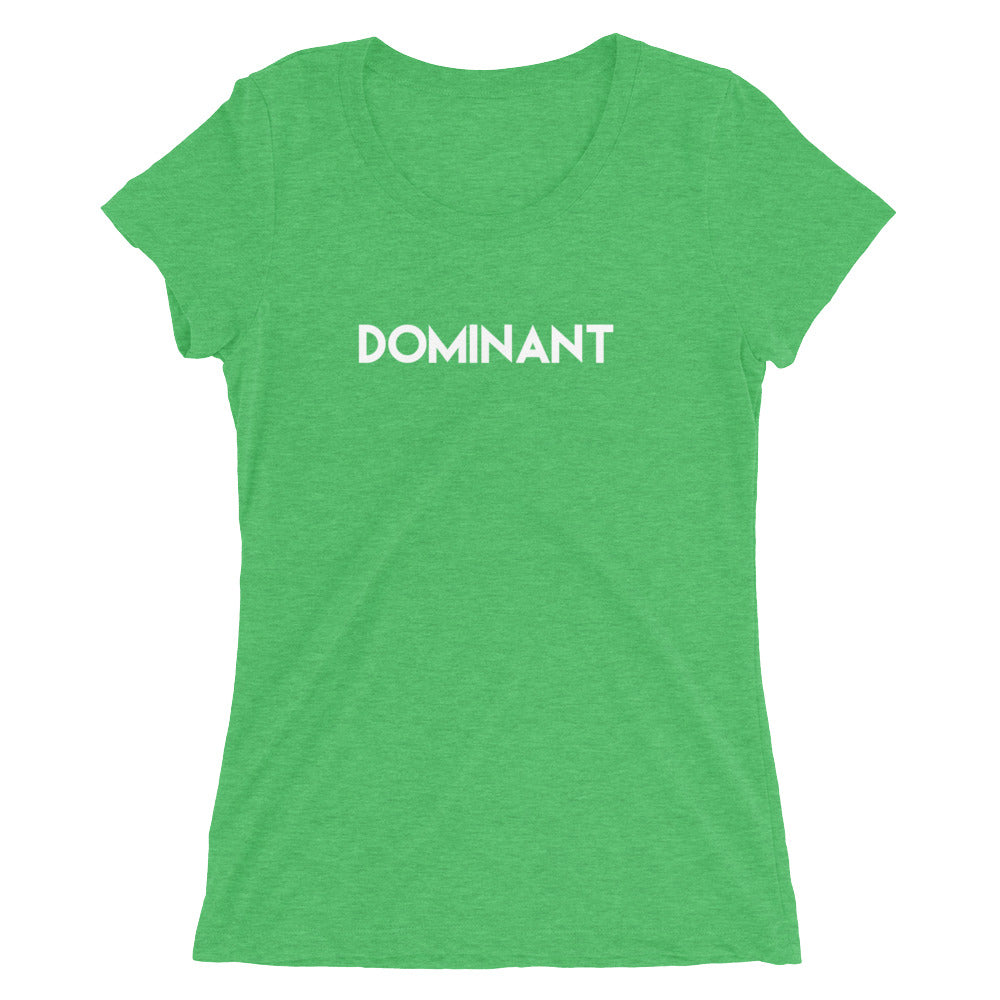 Dominant BDSM Domination Ladies' short sleeve t-shirt - Cuck and Bull Shop
