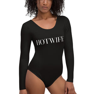 HOTWIFE Cuckolding Couples Womens Long Sleeved Body Suit