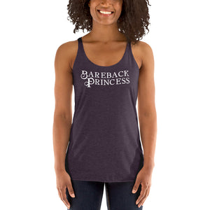 Bareback Princess Women's Racerback Tank - Cuck and Bull Shop