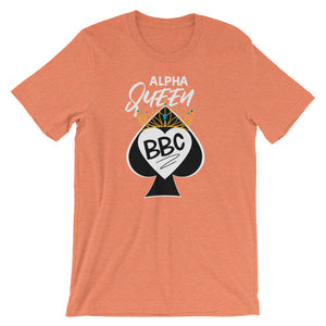 Alpha Queen of Spades I Love BBC Short-Sleeve Unisex T-Shirt