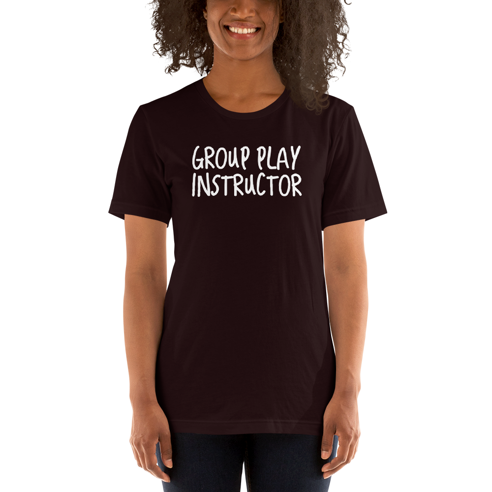 Group Play Instructor Open Relationship Swinger Couples Lifestyle Short-Sleeve Unisex T-Shirt - Cuck and Bull Shop