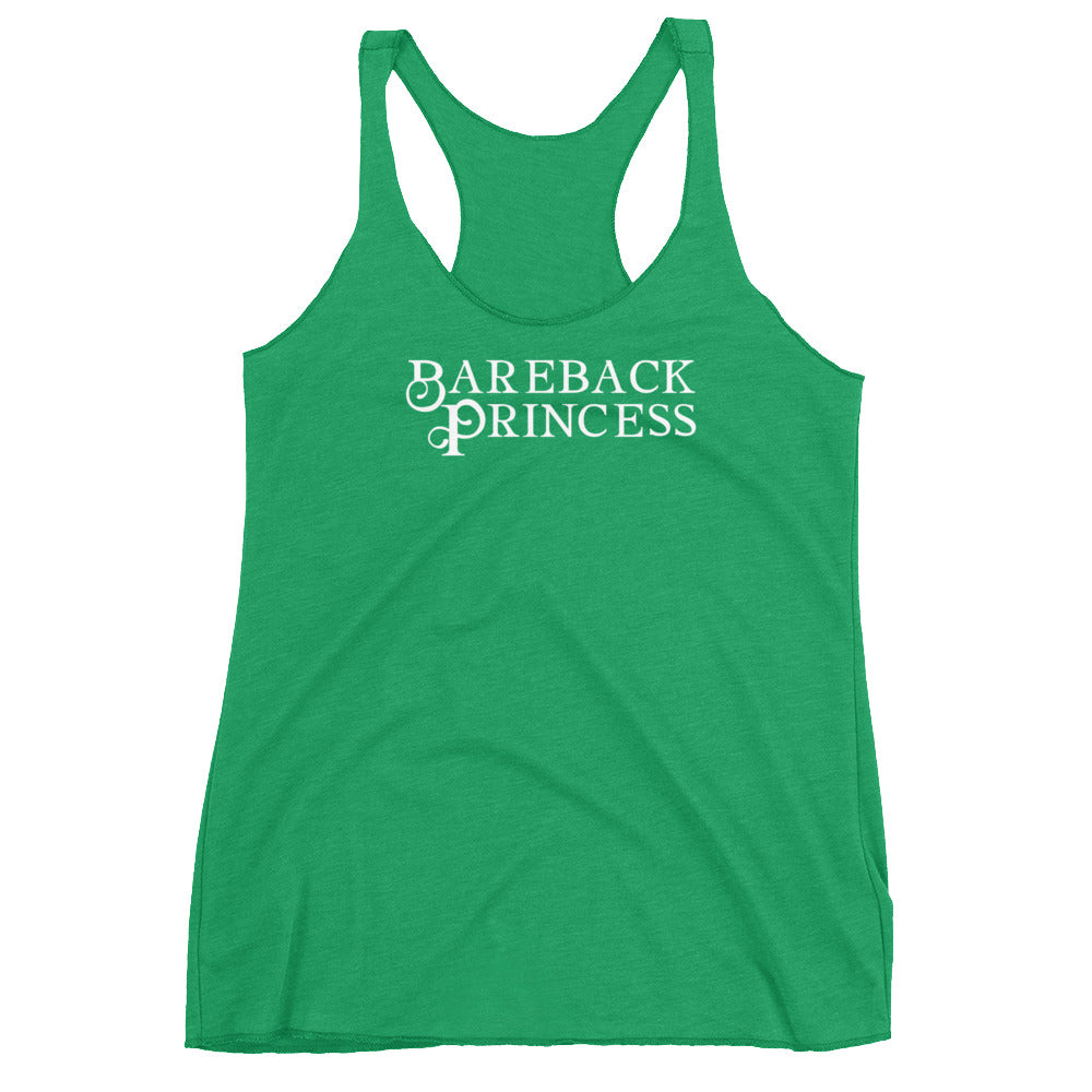 Bareback Princess Cuckolding Couples Womens Racerback Tank Top