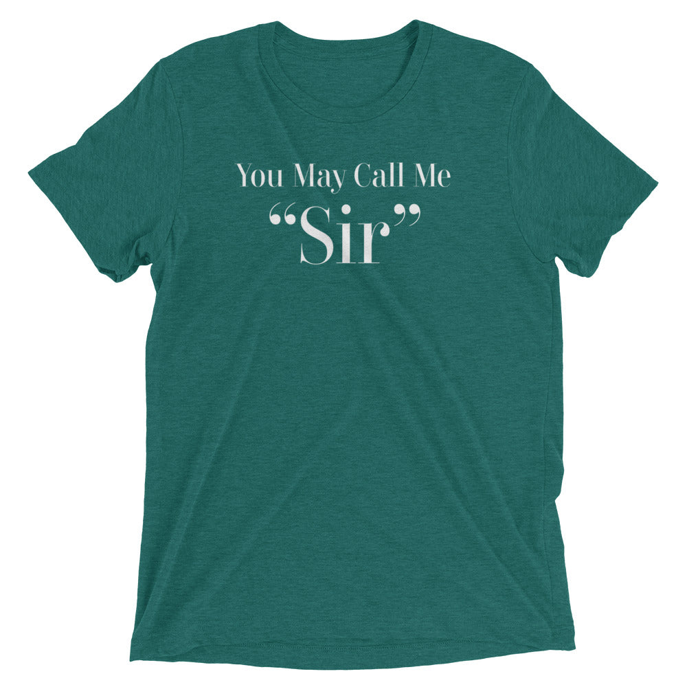 You May Call Me Sir Mens BDSM Short sleeve t-shirt