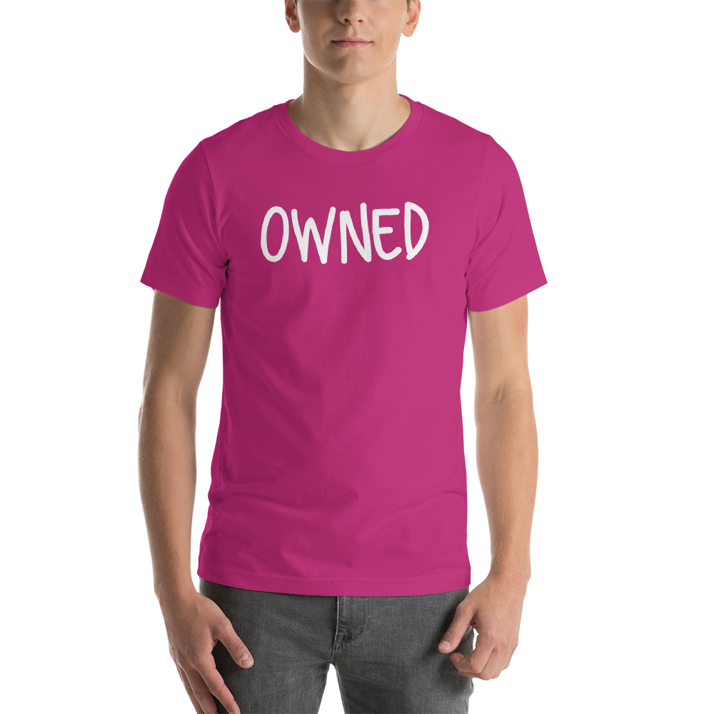 Owned Cuckolding BDSM Kink Short-Sleeve Unisex T-Shirt - Cuck and Bull Shop