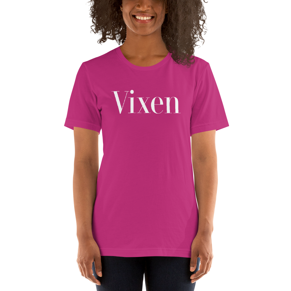 Vixen Short-Sleeve Unisex T-Shirt - Cuck and Bull Shop