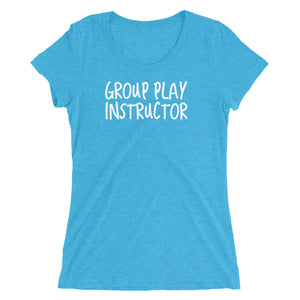 Group Play Instructor Ladies' short sleeve t-shirt - Cuck and Bull Shop