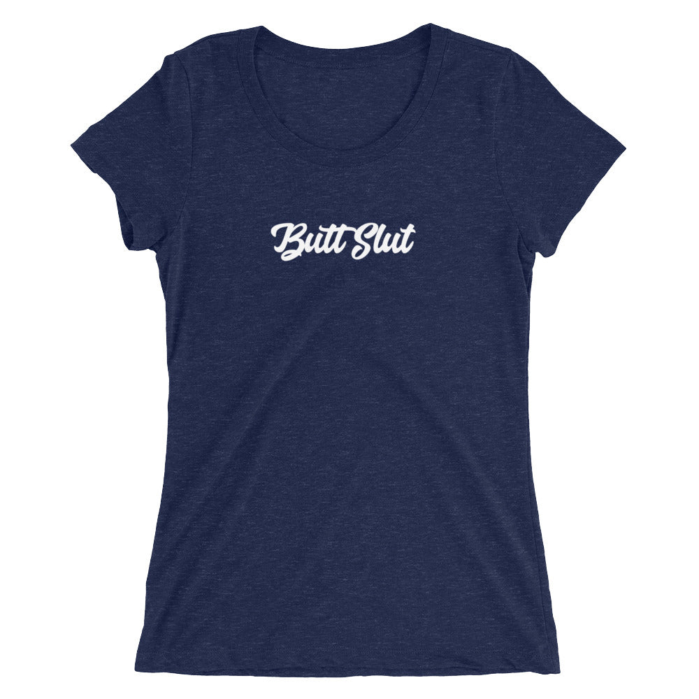 Butt Slut Ladies' short sleeve t-shirt - Cuck and Bull Shop