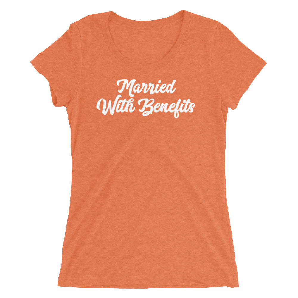 Married With Benefits Ladies' short sleeve t-shirt - Cuck and Bull Shop