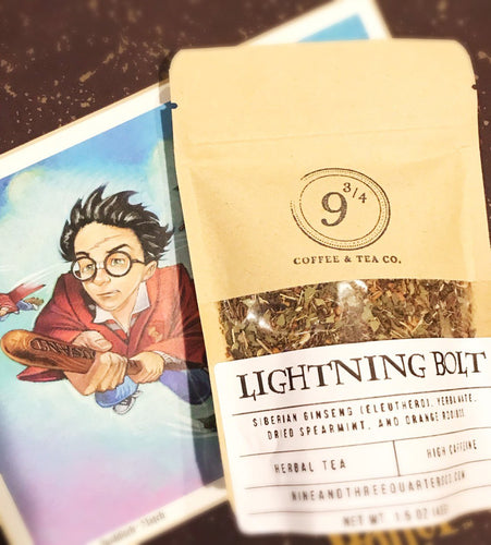 Lightning Bolt - 9 3/4 Coffee & Tea