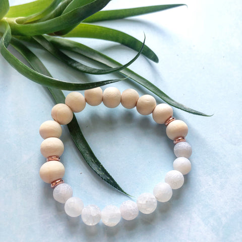 Summer White Agate