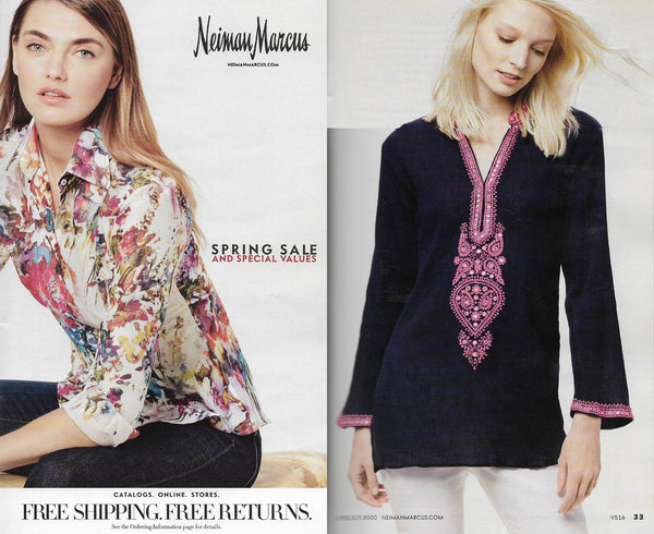 Sulu Collection featured in Neiman Marcus 2016