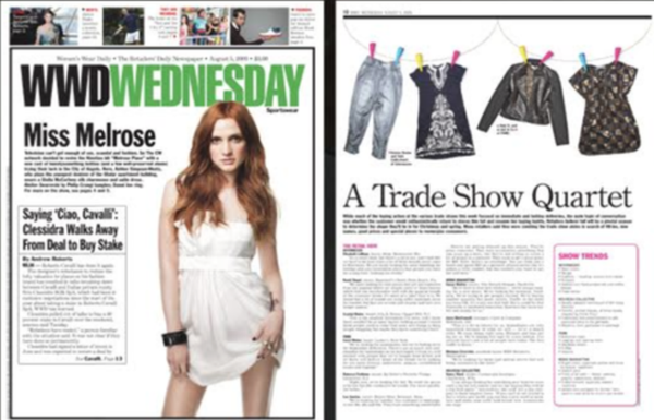 WWD Wednesday, August 5, 2009