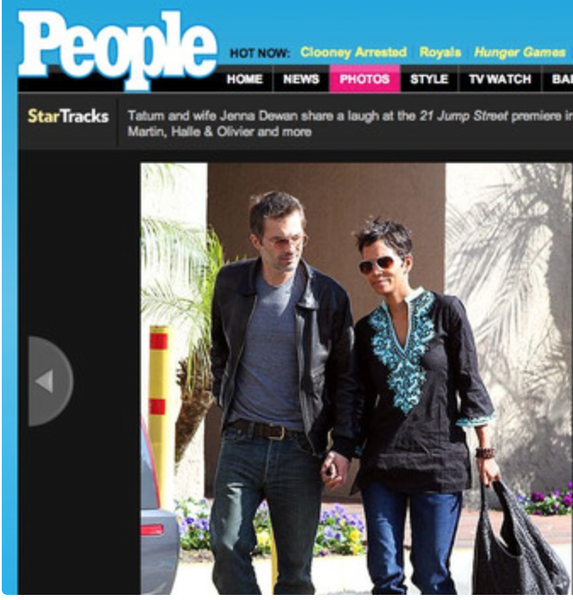 Halle Berry Spotted in a 'Lexi' tunic from Sulu Collection